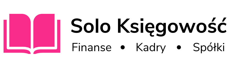 """Obraz przedstawiający logo biura rachunkowego """"Solo Księgowość"""" w Białymstoku."""